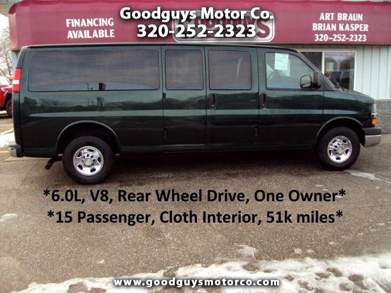 "Chevrolet Express Passenger RWD 3500 155"" 1LT 2011"