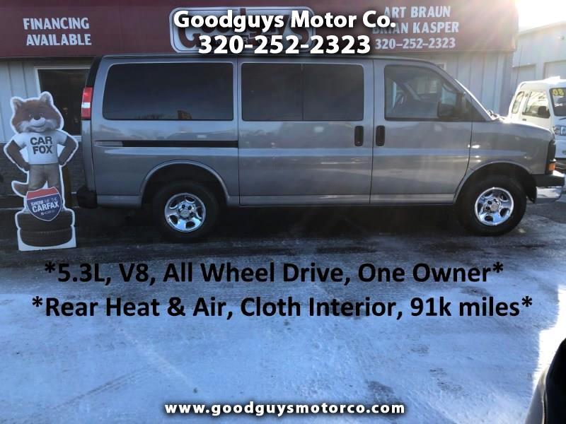 """Chevrolet Express Passenger AWD 1500 135"""" 2008"""