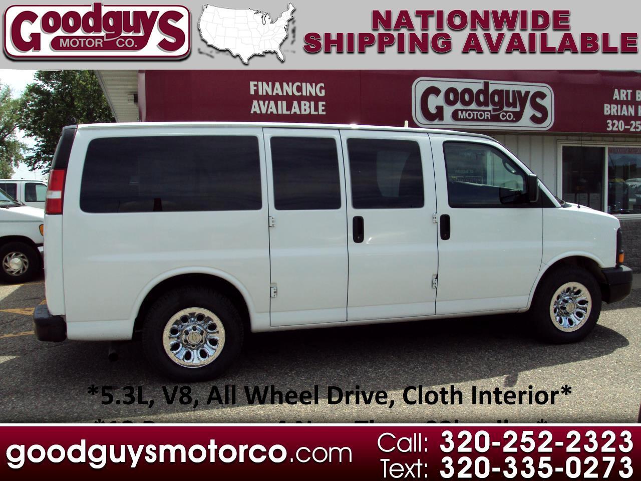 """Chevrolet Express Passenger AWD 1500 135"""" LS 2010"""