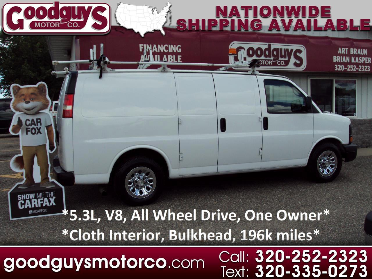 "Chevrolet Express Cargo Van AWD 1500 135"" 2009"