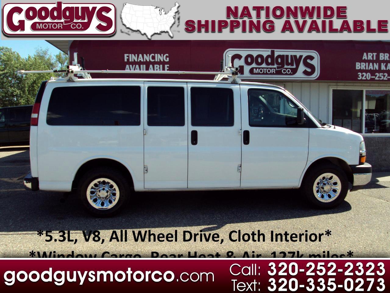 "Chevrolet Express Cargo Van 1500 135"" WB AWD 2014"