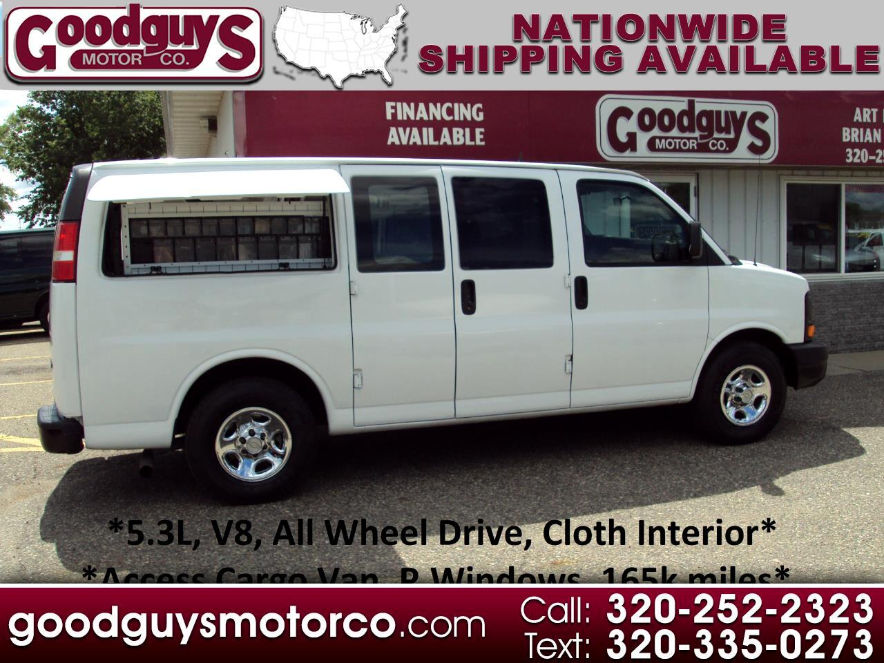"Chevrolet Express Cargo Van 1500 135"" WB AWD 2006"
