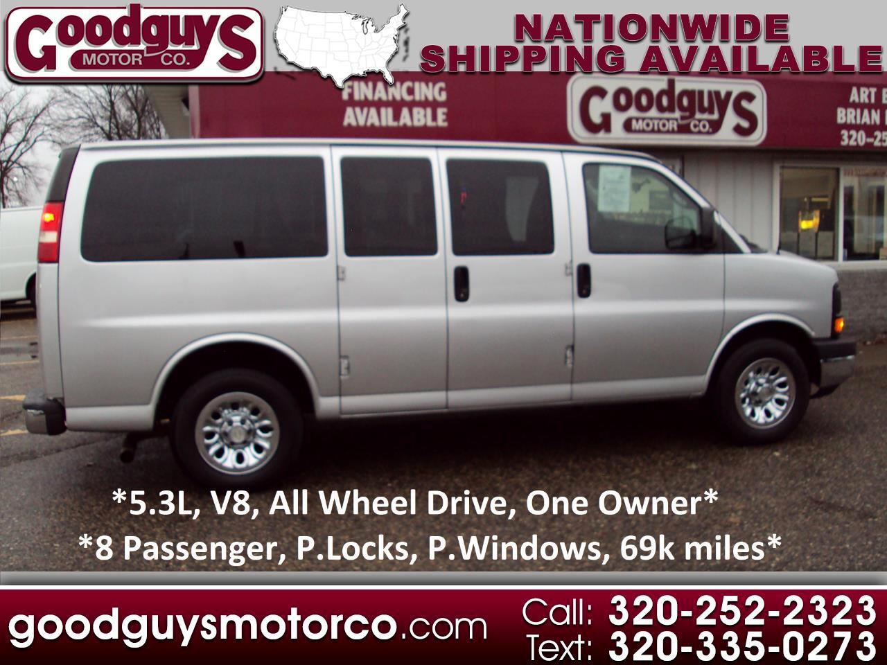 """Chevrolet Express Passenger AWD 1500 135"""" LS 2013"""
