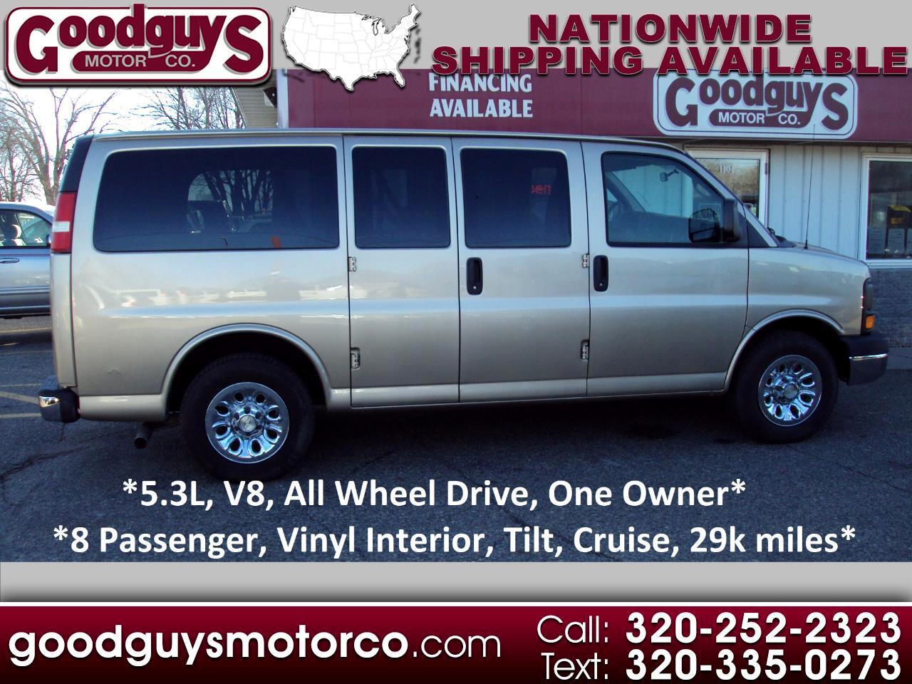 """Chevrolet Express Passenger AWD 1500 135"""" 1LS 2011"""