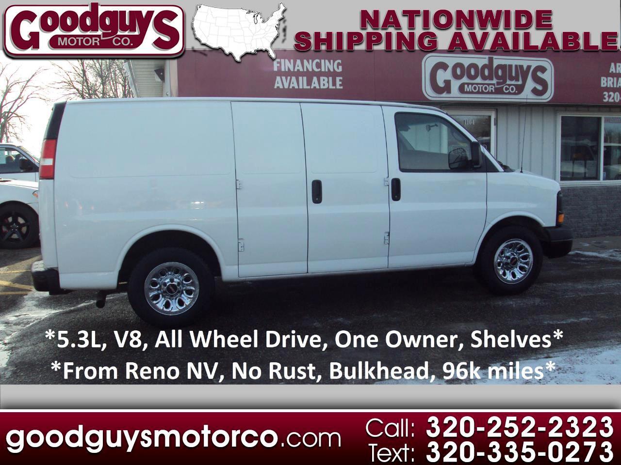 "GMC Savana Cargo Van AWD 1500 135"" 2012"