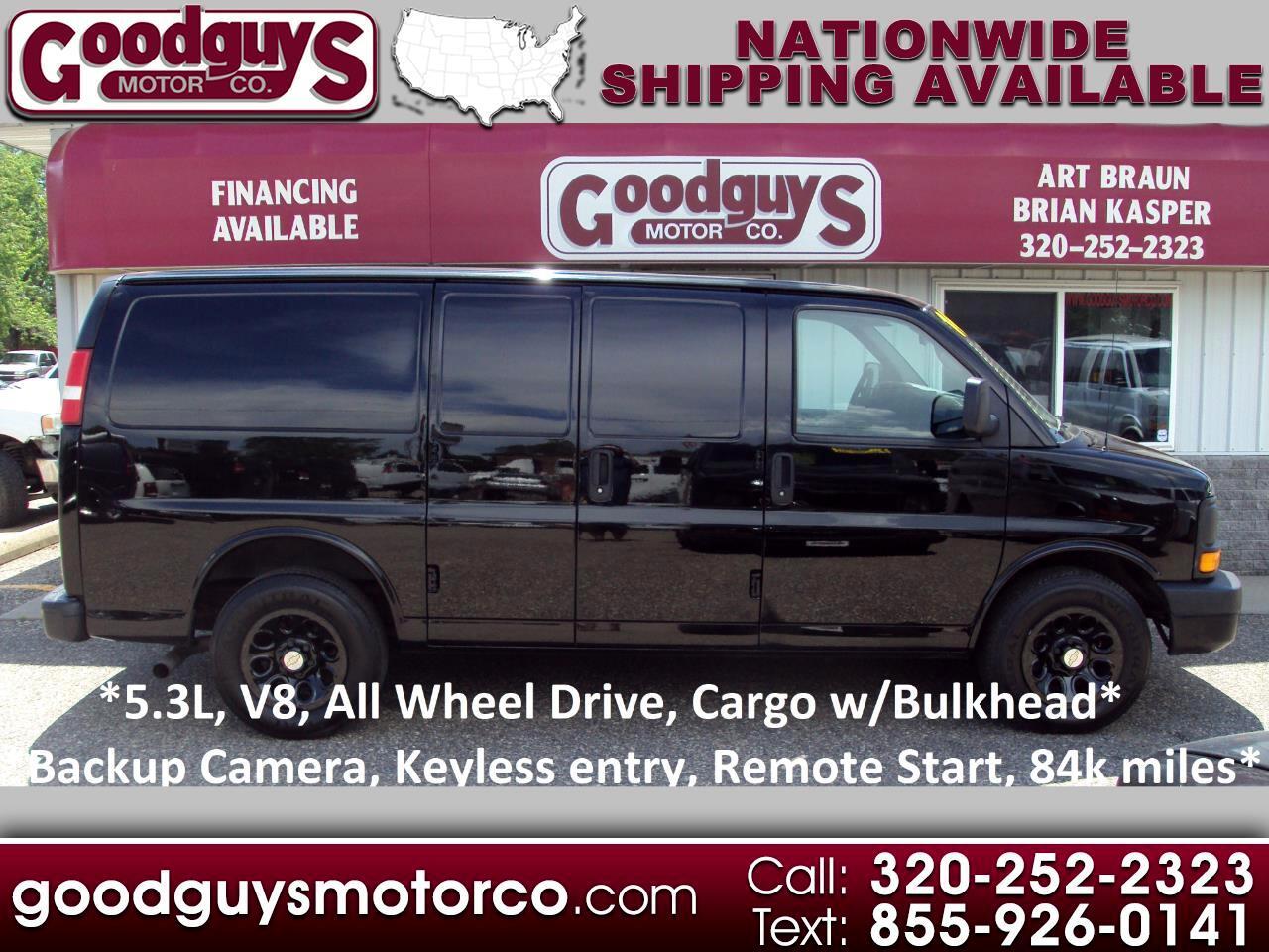"Chevrolet Express Cargo Van AWD 1500 135"" 2014"