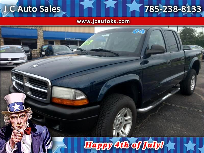 2004 Dodge Dakota 4WD Crew Cab SXT
