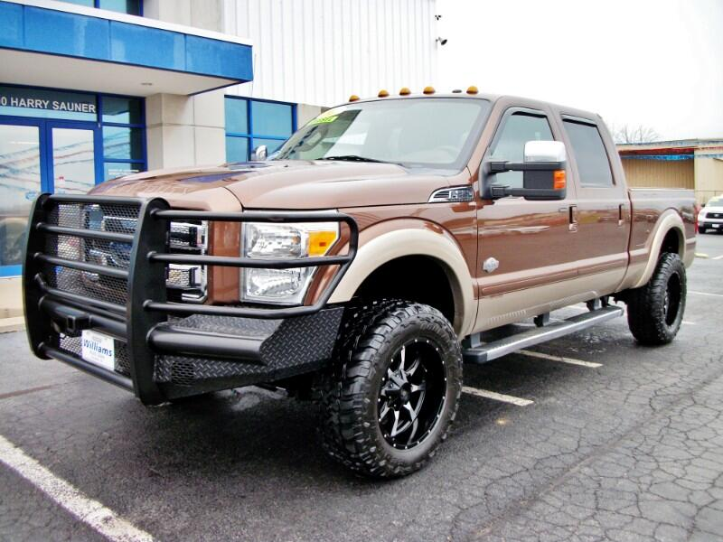2012 Ford F-250 SD 4WD Crew Cab 156