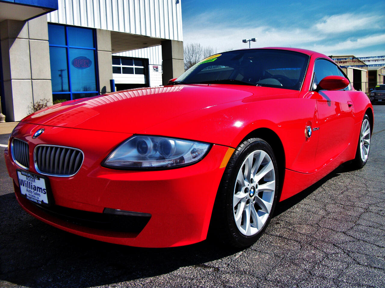 2007 BMW Z4 2dr Coupe 3.0si