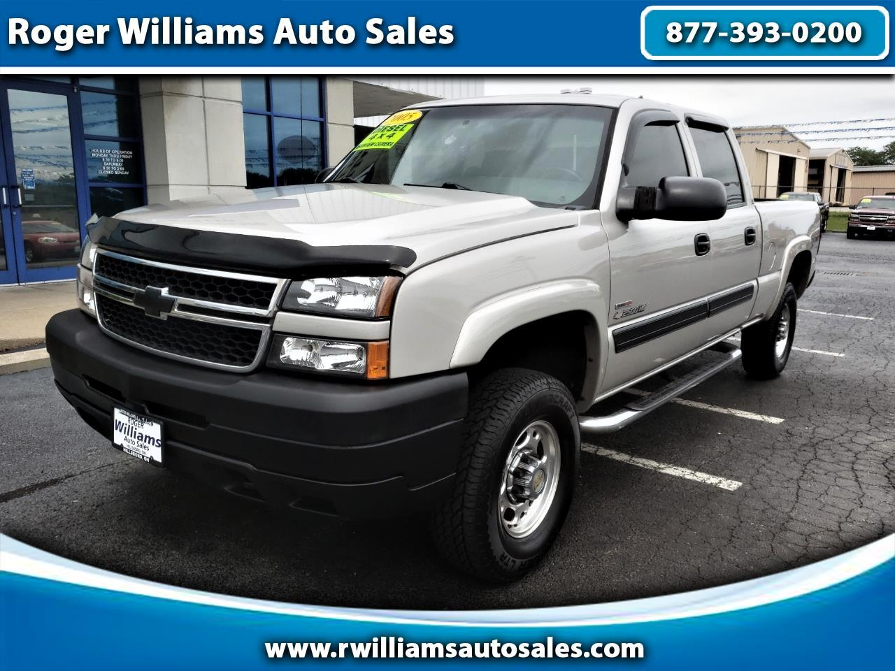 Amazing Used 2005 Chevrolet Silverado 2500Hd Crew Cab 153 Wb 4Wd Ls Pabps2019 Chair Design Images Pabps2019Com
