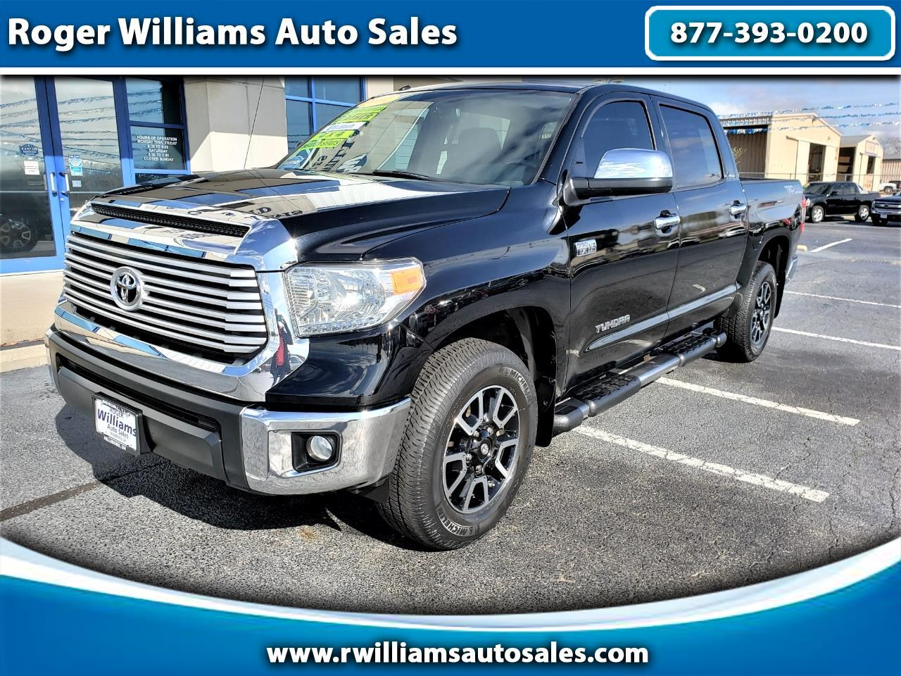 Toyota Tundra 4WD Truck CrewMax 5.7L FFV V8 6-Spd AT LTD (Natl) 2014