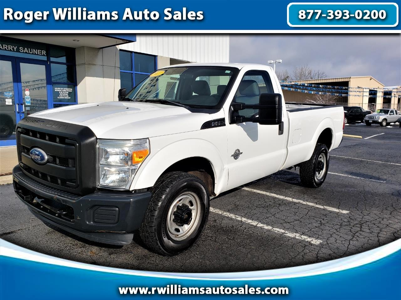 "Ford Super Duty F-250 SRW 2WD Reg Cab 137"" XL 2011"