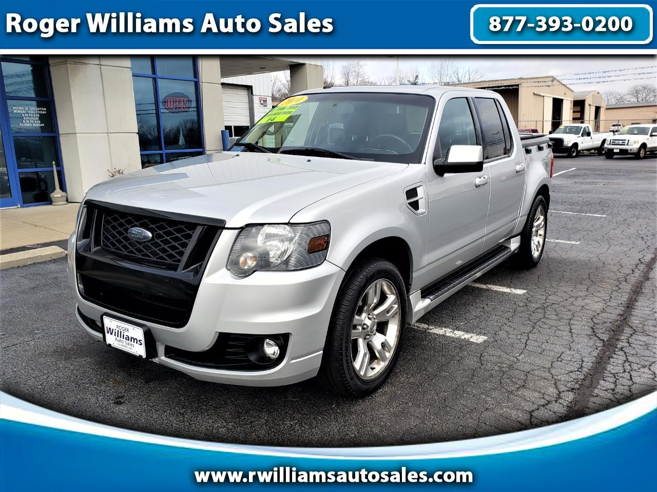 Ford Explorer Sport Trac AWD 4dr V8 Adrenalin 2010