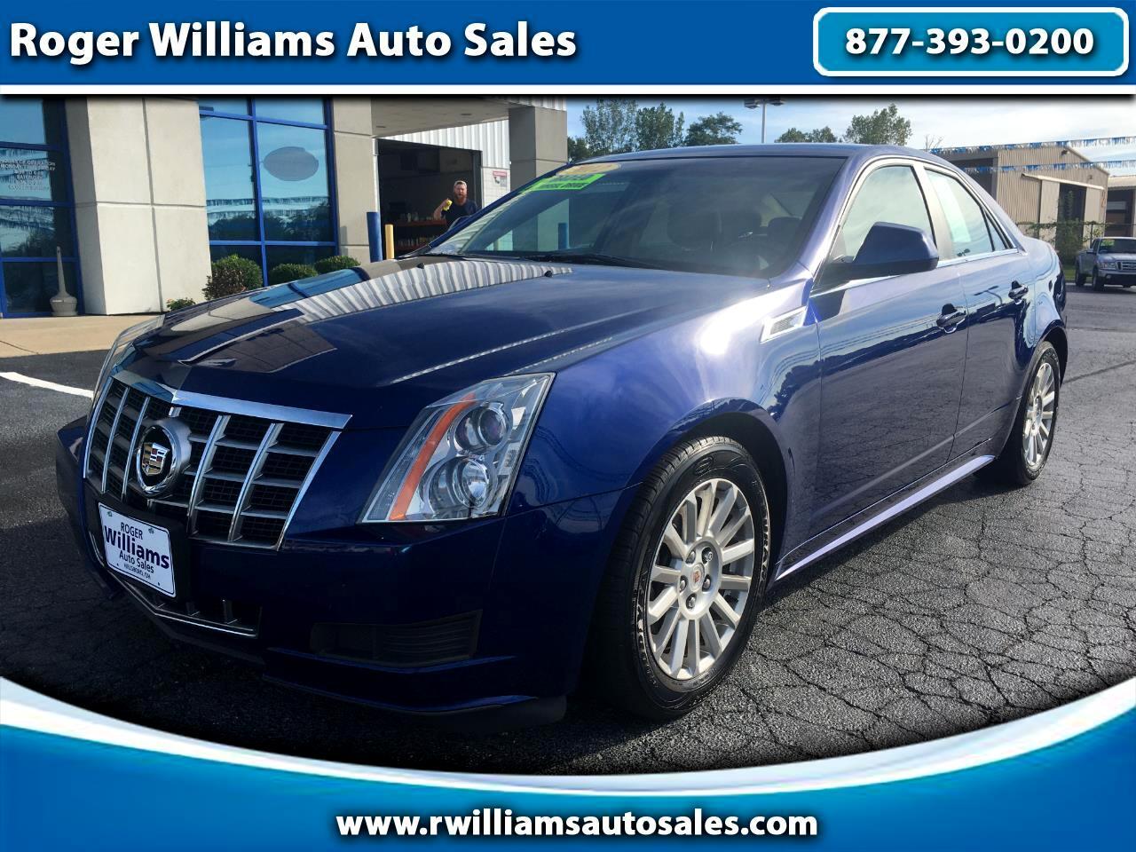 Cadillac CTS Sedan 4dr Sdn 3.0L Luxury AWD 2012