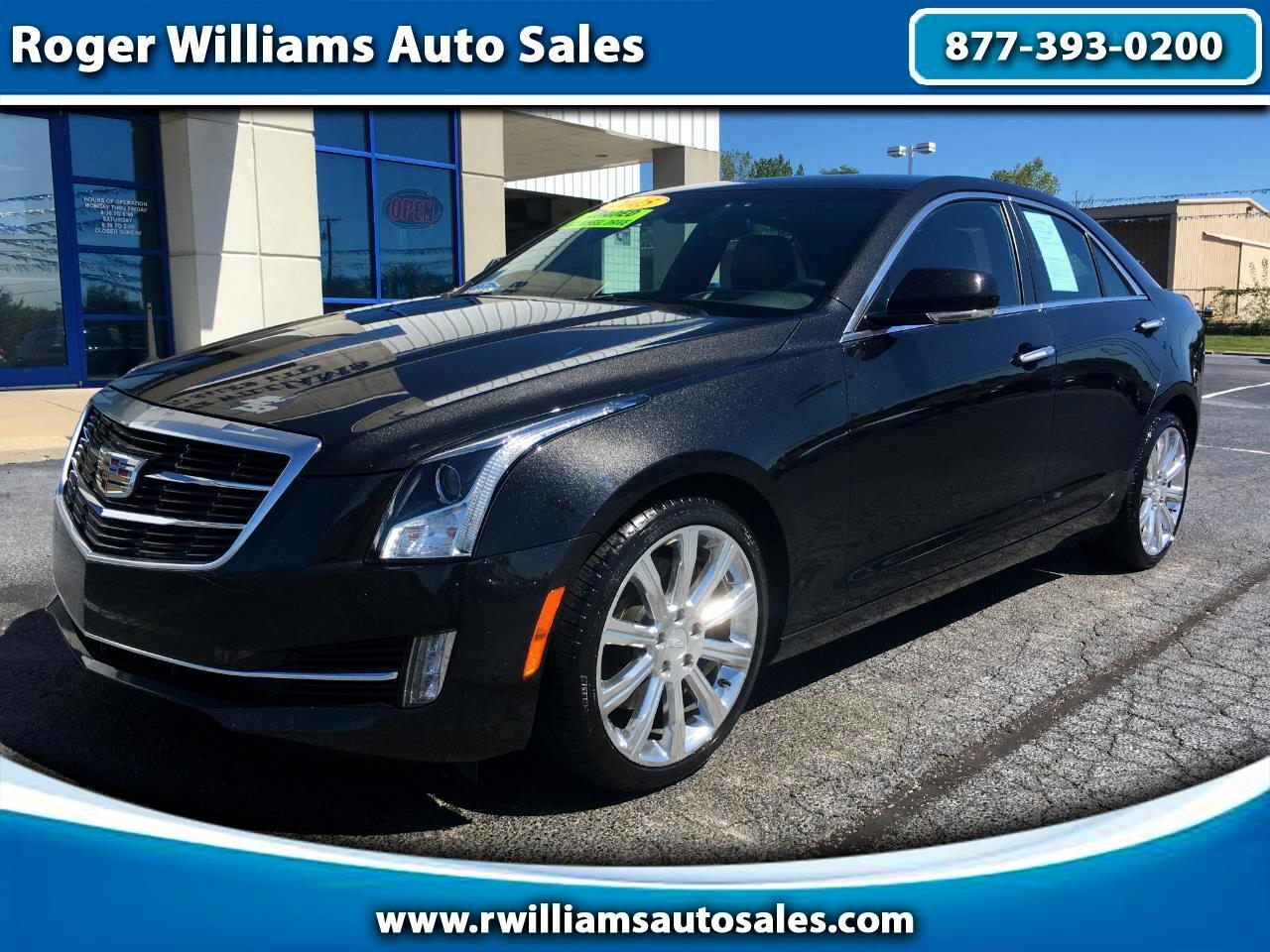 Cadillac ATS Sedan 4dr Sdn 2.0L Premium AWD 2015
