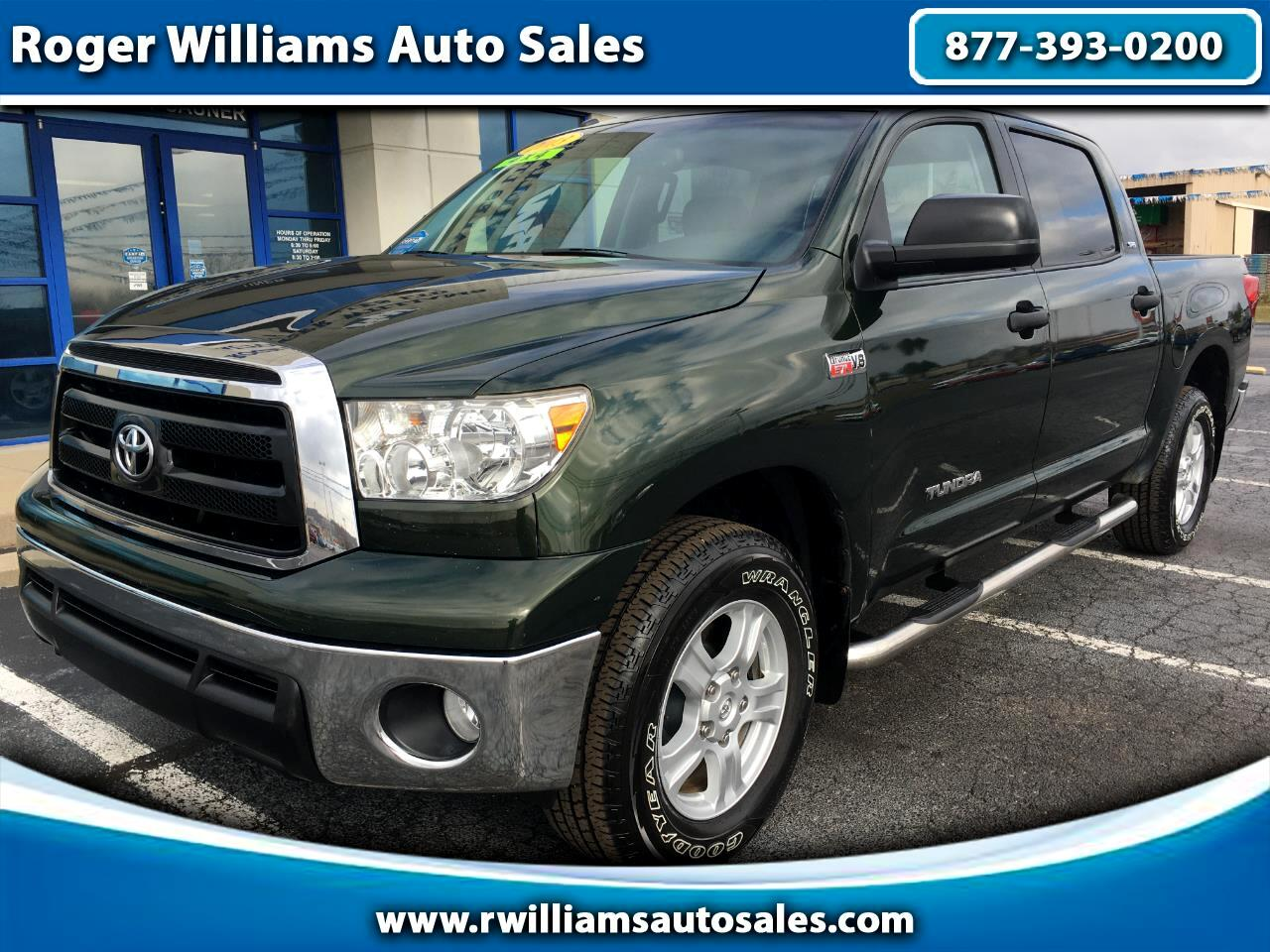 Toyota Tundra 4WD Truck CrewMax 5.7L V8 6-Spd AT (Natl) 2013