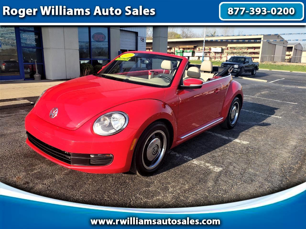 Volkswagen Beetle Convertible 2dr Auto 2.5L PZEV 2013