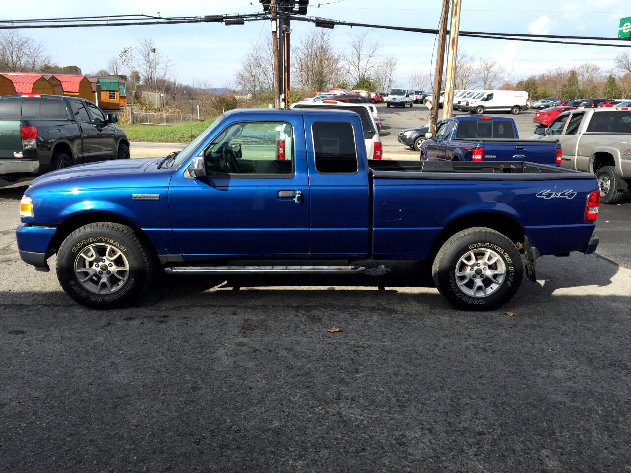 "2008 Ford Ranger 4WD 2dr SuperCab 126"" FX4 Off-Rd"