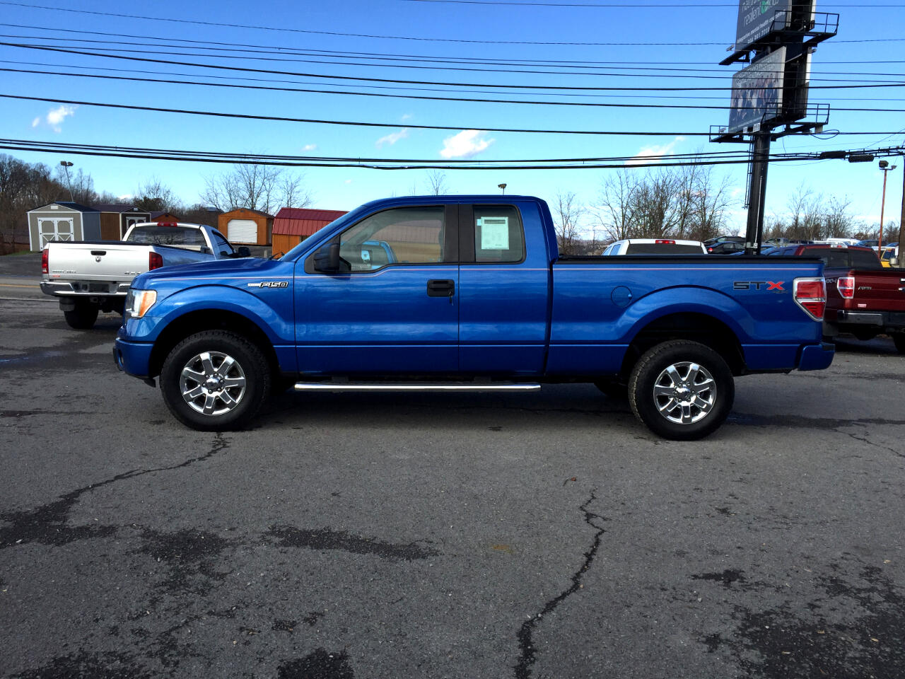 "2010 Ford F-150 4WD SuperCab 145"" STX"
