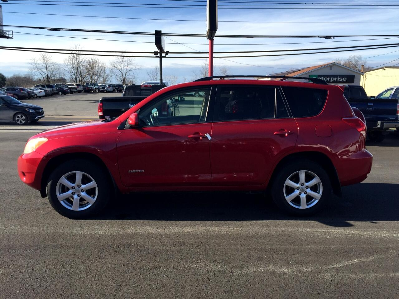 2008 Toyota RAV4 4WD 4dr 4-cyl 4-Spd AT Ltd (Natl)