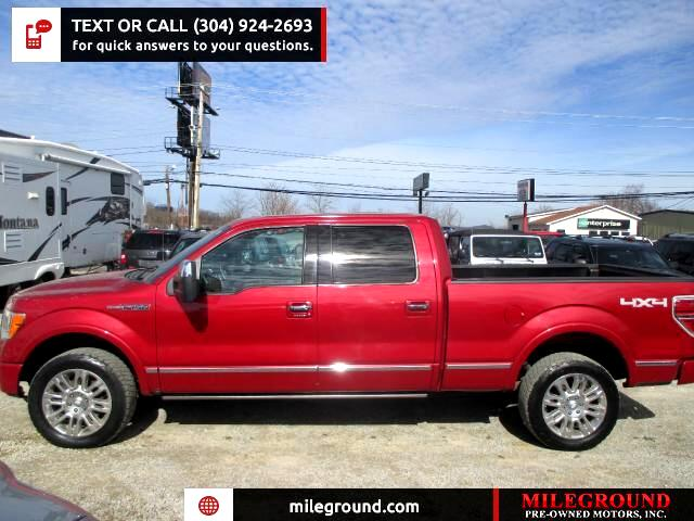 2010 Ford F-150 Platinum SuperCrew 6.5-ft. Bed 4WD