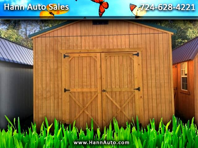2018 Backyard Outfitters Utility Shed 12x16