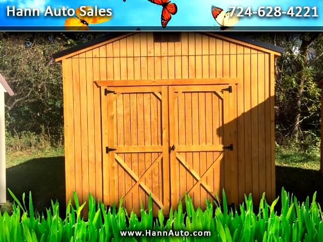 2018 Backyard Outfitters Utility Shed 10x12