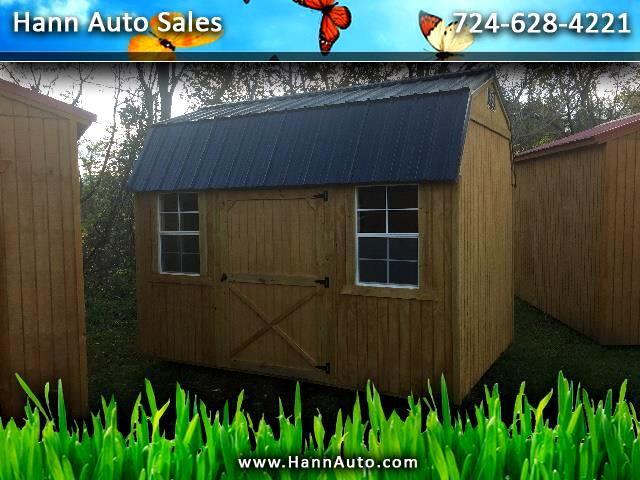 2018 Backyard Outfitters Side Lofted Barn 8x12