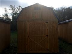 2018 Backyard Outfitters Lofted Barn