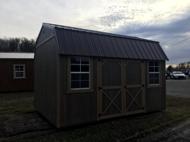2017 Backyard Outfitters Side Lofted Barn 10x14