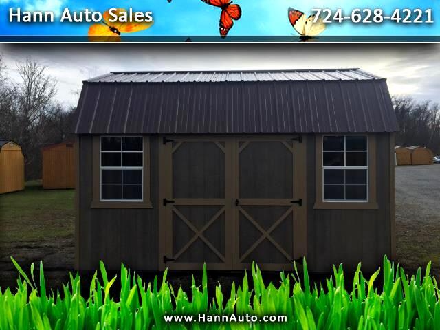 Backyard Outfitters Side Lofted Barn  2021