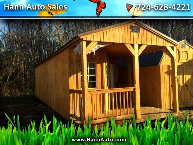 2017 Backyard Outfitters Deluxe Cabin 12x36