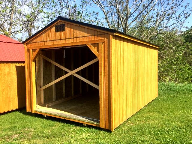 2018 Backyard Outfitters Utility Garage 12x16