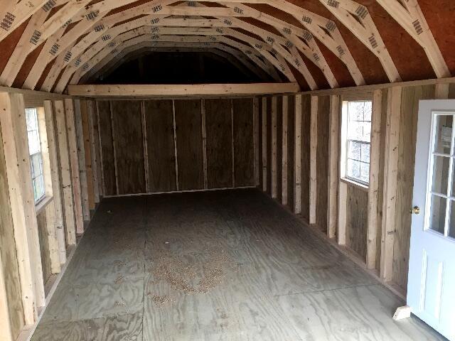 Backyard Outfitters Lofted Garage  2019