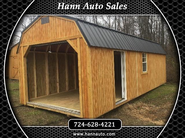 Backyard Outfitters Lofted Garage  2020