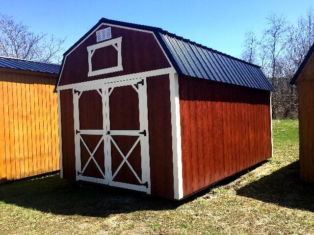 2018 Backyard Outfitters Lofted Barn 10x16