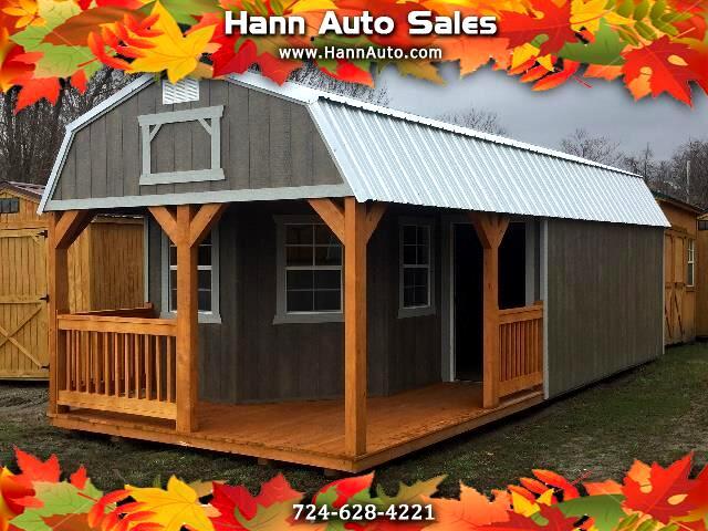 Backyard Outfitters Deluxe Lofted Barn Cabin  2020