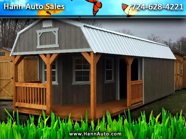Backyard Outfitters Deluxe Lofted Barn Cabin  2021