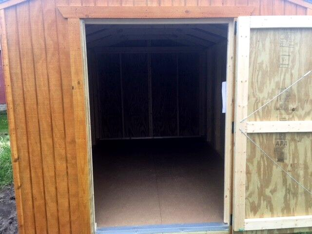 2018 Backyard Outfitters Utility Shed 8x12