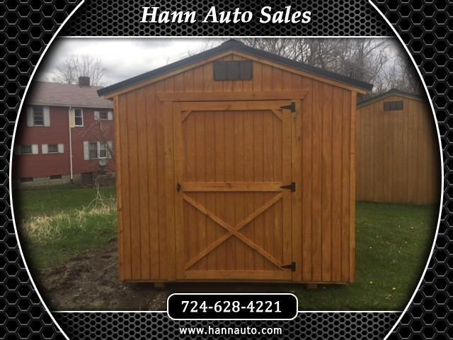 Backyard Outfitters Utility Shed  2020