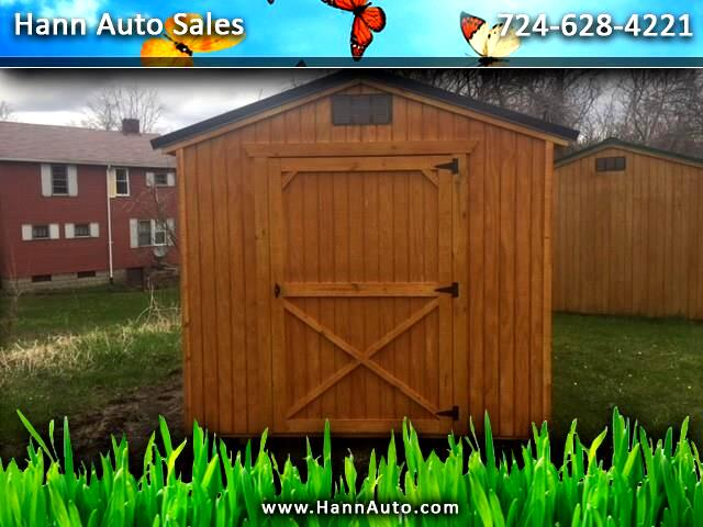 Backyard Outfitters Utility Shed  2021