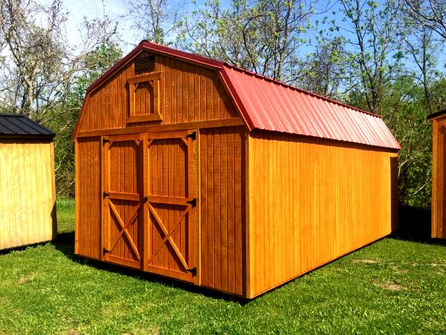 2018 Backyard Outfitters Lofted Barn 12x20