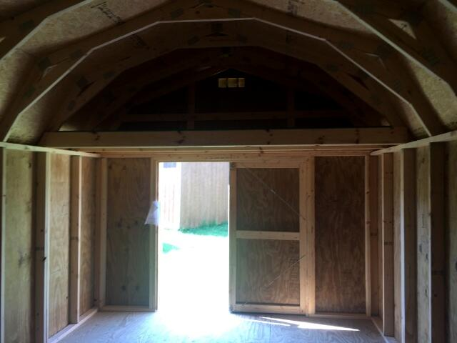 Backyard Outfitters Lofted Barn  2019