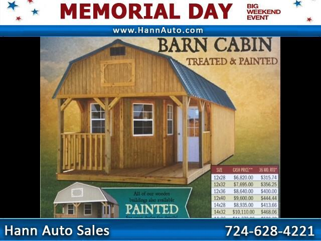 2018 Backyard Outfitters Deluxe Lofted Barn Cabin