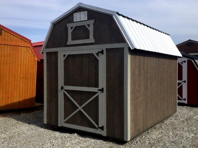 2019 Backyard Outfitters Lofted Barn 8X12