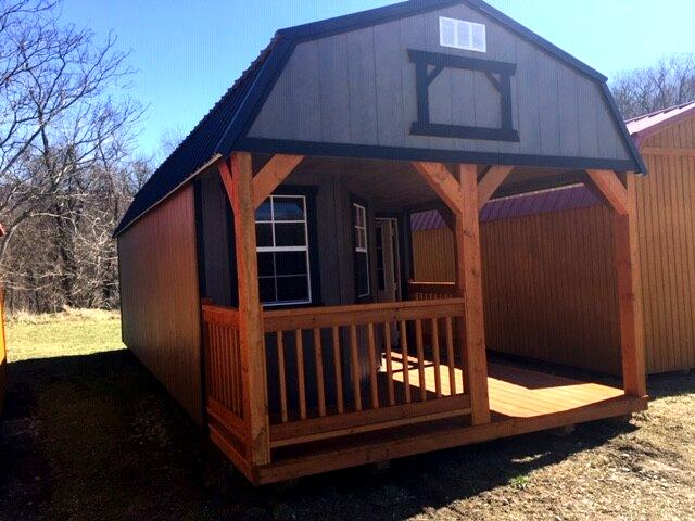 2019 Backyard Outfitters Deluxe Lofted Barn Cabin 12X28