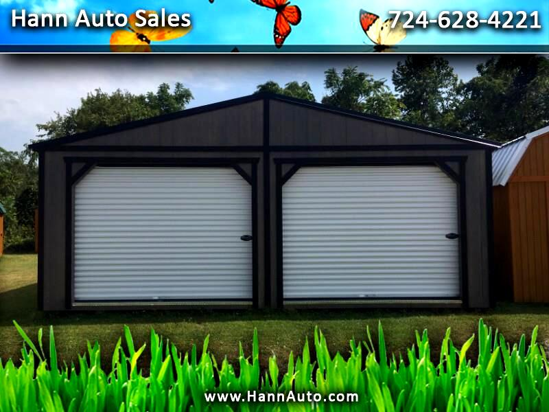 Backyard Outfitters Double Wide Garage  2020