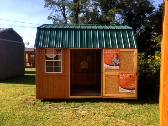 Backyard Outfitters Side Lofted Barn  2019