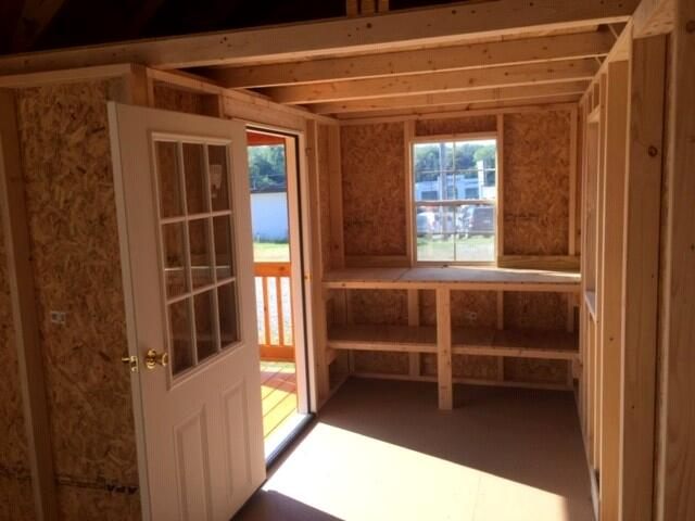 Backyard Outfitters Side Porch Cabin  2019