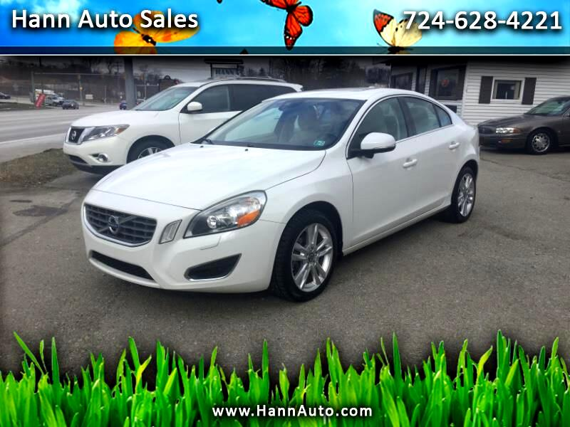 Volvo S60 AWD 4dr Sdn T6 w/Moonroof 2013